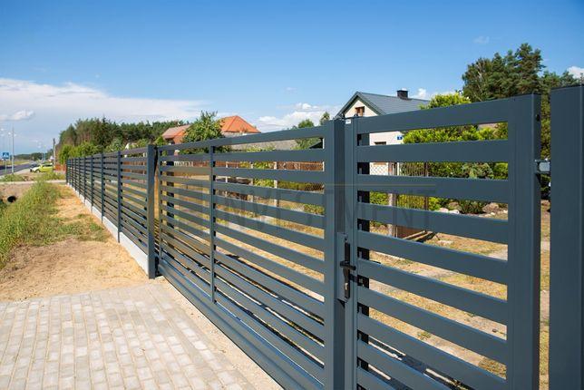 Brama przesuwna wjazdowa HORIZONTAL MK II Bramy przesuwne ogrodzeniowe