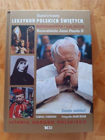 Ilustrowany leksykon polskich świętych