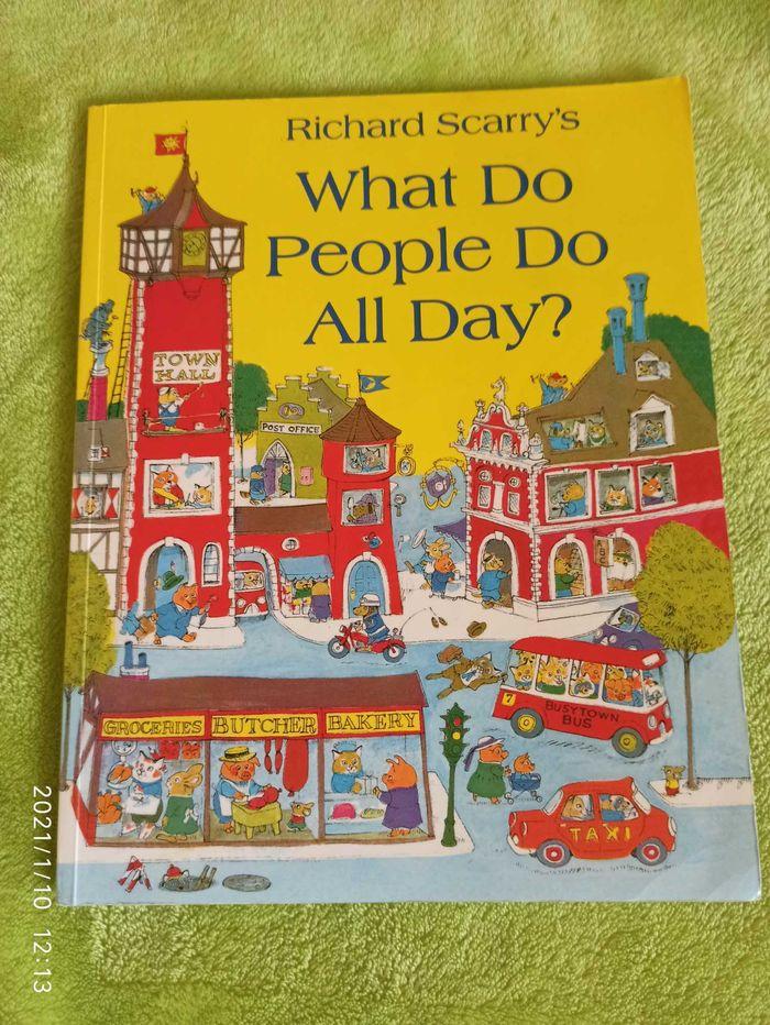 Р. Скарри Scarry What do people do all day детская книга на английском Киев - изображение 1