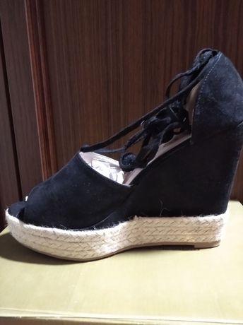 Sandalki na koturnie