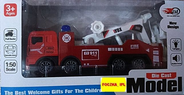 Model - Straż Pożarna z oświetleniem i dźwiękiem w skali 1:50.