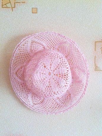 Вязанные шляпки крючком