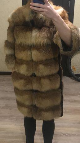 Продам шубу из лисы