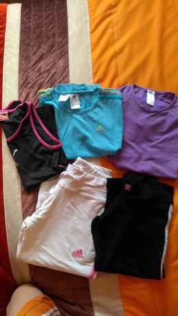 Lote roupa desporto xs/s