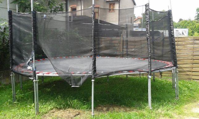 Trampolina z siatką 450 cm