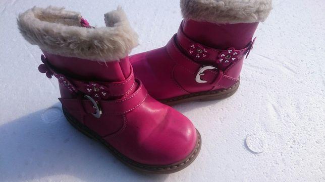 Buty zimowe dla dziewczynki 23