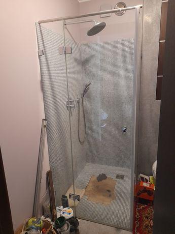 Kabina prysznicowa szklana 90 x 90