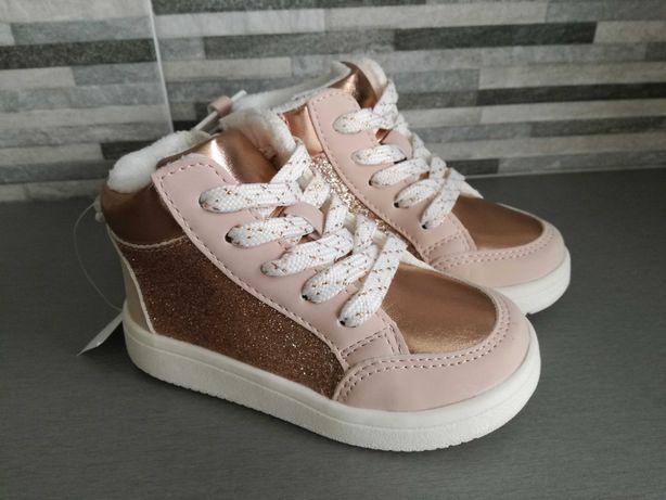 H&M * buty ocieplone * 22 * nowe
