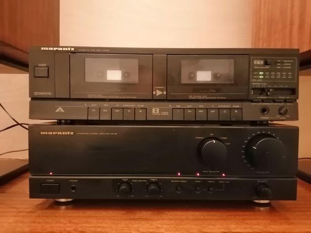 Duplo Deck cassetes Marantz SD-265