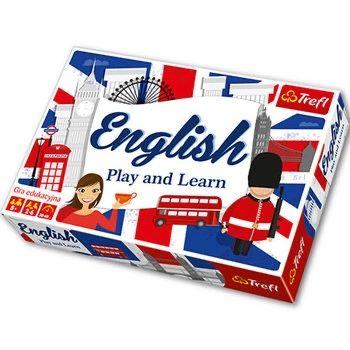 Gra planszowa English play and learn Trefl