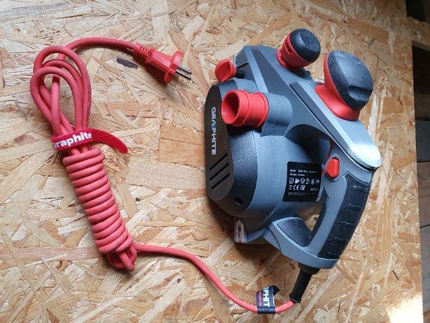 STRUG elektryczny hebel GRAPHITE 850W 59G678