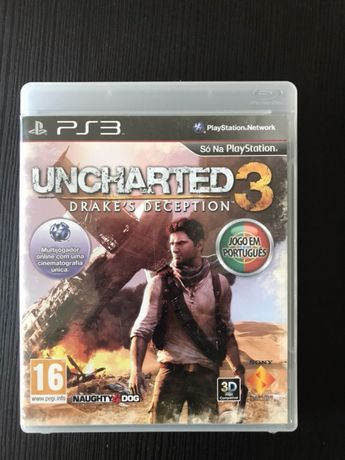 PS3 Uncharted 3 - impecável