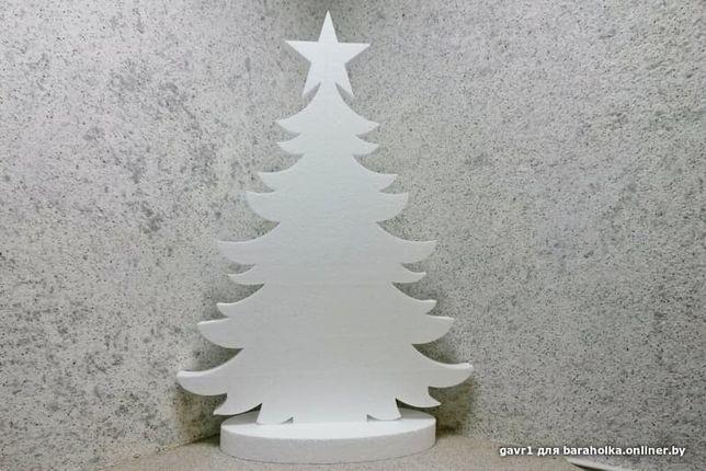 Ёлка из пенопласта80 см,ёлочка,декор на новый год