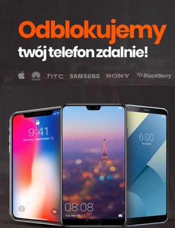 Simlock Samsung/Sony/LG/Htc/Huawei/Iphone/Alcatel i wiele innych