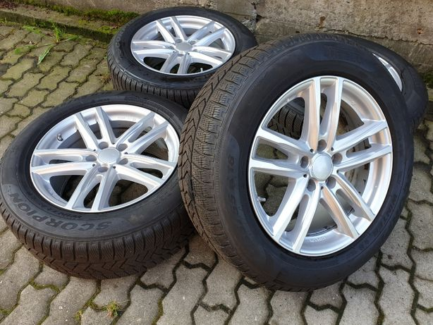 "Felgi aluminiowe 18"" 5x120 BMW X5 F15 G05 E70 E53 X6 z oponami 2019 r."