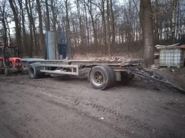 Przyczepa ciężarowa, 7,2 m dluga