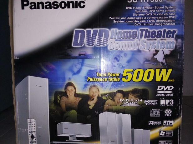 Panasonic sc-ht500 DVD home theater sound system