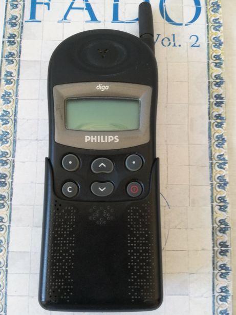 Telemóvel Vintage Philips Diga