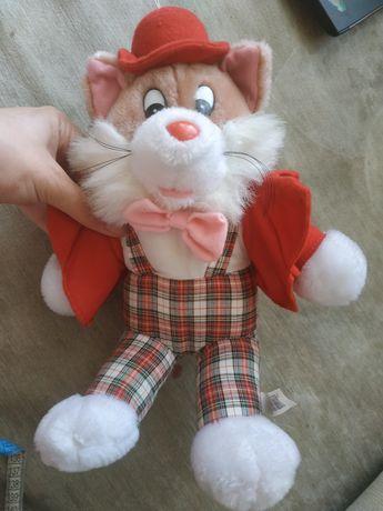 Очень стильный игрушка кот, стиляга кот, кот в шляпе