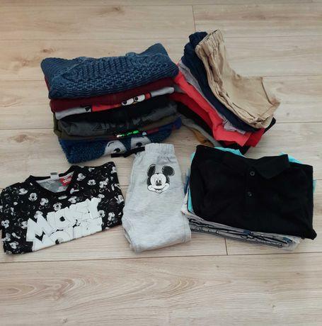 Paka/zestaw ubrań dla chłopca w rozmiarach 80/86
