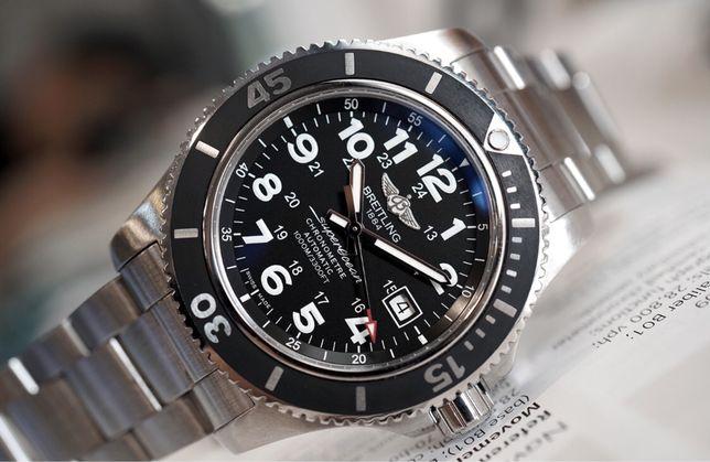 Новые Breitling A17392 Superocean ll 44мм оригинал часы omega