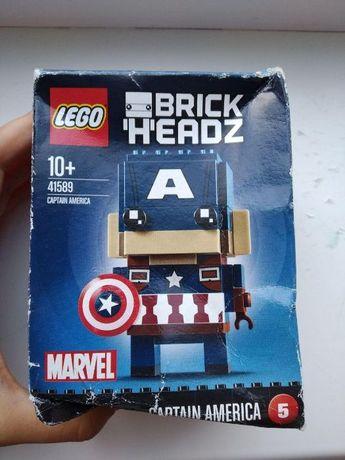 LEGO BrickHeadz Капитан Америка 41589 лего брикс хед