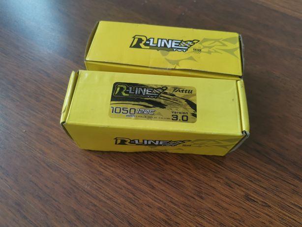 Akumulator LiPo 6S Tattu R-Line V3.0 1050mAh, 120C, 22.2V, XT60 NOWY!