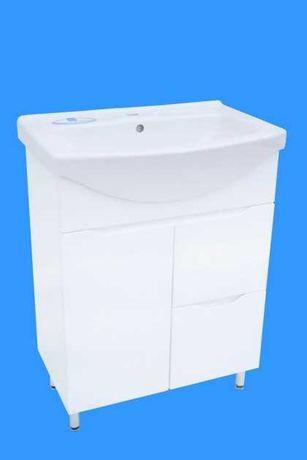 Тумба в ванную комнату  Висла Т-4 с умывальником изео 70(65.75)