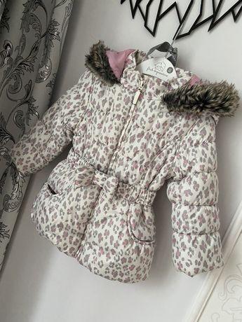 Куртка теплая демисезонная 92