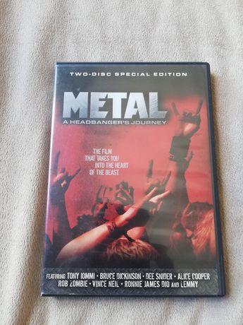 DVD Metal A Headbangers Journey