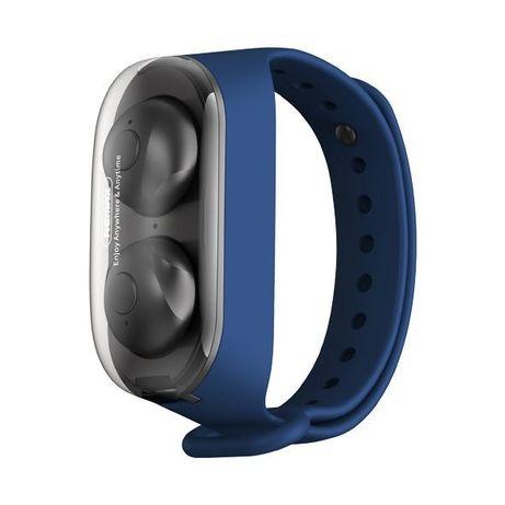 Fones Remax Wristband Wireless Earbuds Bluetooth 5.0 Tws Escuro Verde (Tws-15 Tarnish Azul)
