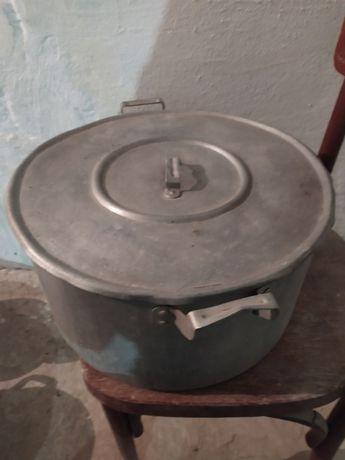 Кастрюля алюминиевая 15 литров
