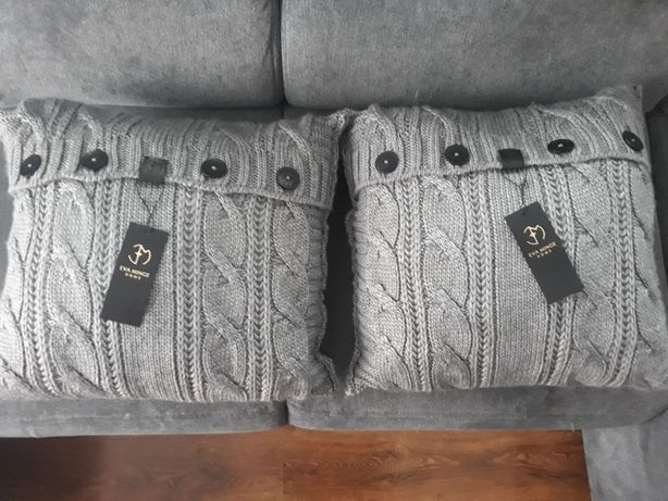 Dwie poduszki i koc Eva Minge Home