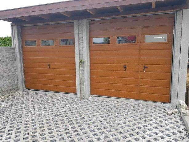 Brama Garażowa Uchylna Drzwi Dwuskrzydłowe Na Wymiar Ostrołęka