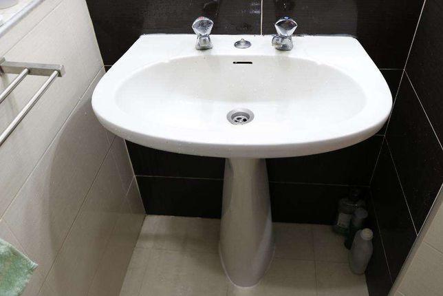 Loiças de WC Sanita + Bidé + Lavatório de Coluna - DESOCUPAR