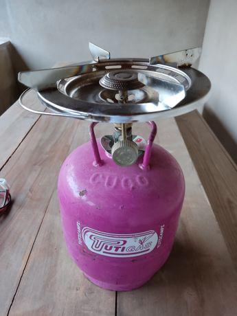 Garrafa de gás de 3kg + Fogareiro