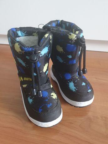 Buty zimowe śniegowce rozmiar 25
