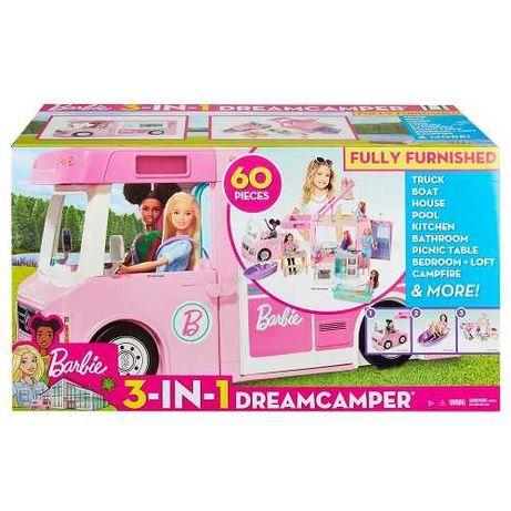 Nowy Mattel Kamper Barbie 3w1 HIT! NOWY