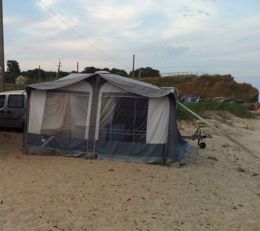 Палатка для прицепа треллера