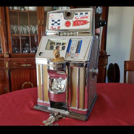 Slot machine antiga - RARA de museu