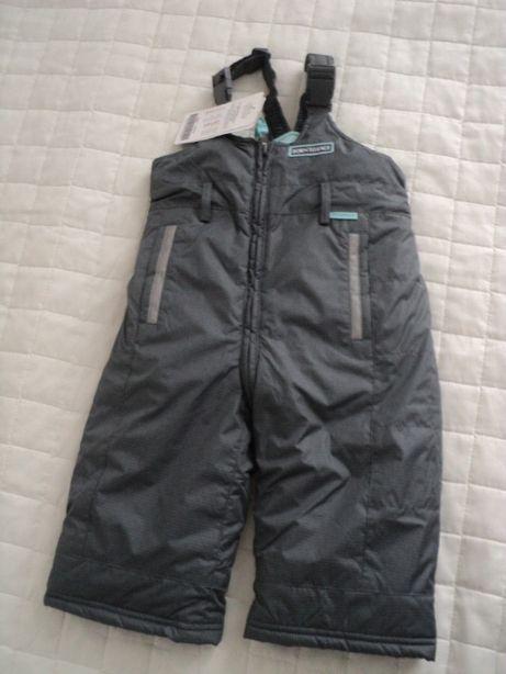 NOWE spodnie narciarskie/ocieplane/zimowe r. 80 coccodrillo Cool Club