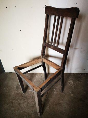 Krzesła stare do renowacji drewniane