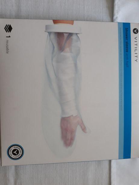 Rękaw wodoodporny ochraniacz zabezpieczenie przed zamoczeniem