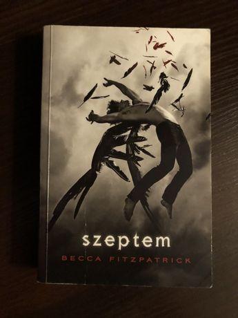"""Becca Fitzpatrick """"Szeptem"""" fantastyka fantasy romans"""