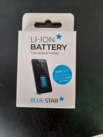 Bateria, Battery li-ion blue star Samsung I8190/S3 mini