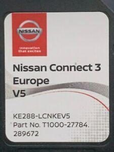 Nissan connect 3 V5 2020 karta nawigacja