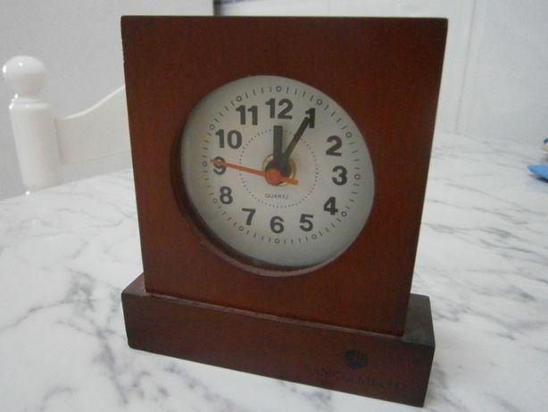 Relógio madeira secretária B.Melo