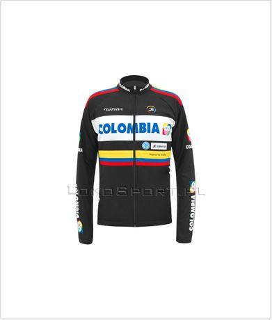 Ocieplana bluza kolarska COLOMBIA, rozmiary od S do 4XL