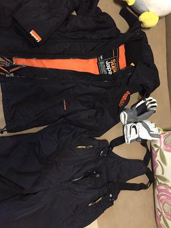 Комплект одежды для лыж или сноуборда подростку