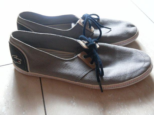 Męskie buty LACOSTE tenisówki trampki 42 wkładka 27 cm